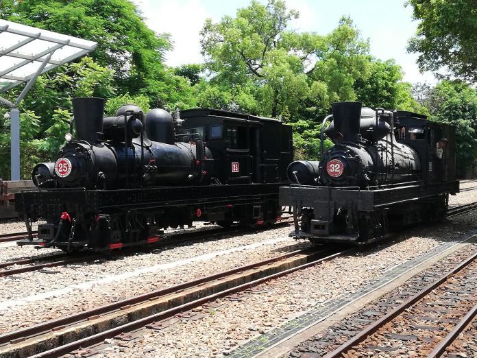 國寶級蒸汽火車回家了