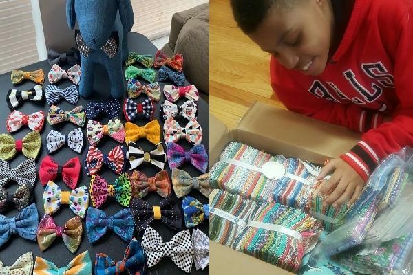 12歲男孩設立公司 竟是為浪浪製作領結提高領養率
