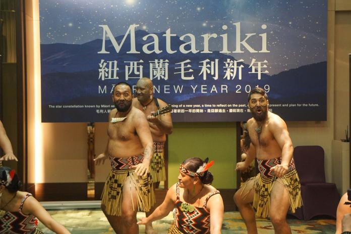 影/歡慶紐西蘭<b>毛利</b>新年 桃園台北辦傳統戰舞街頭快閃