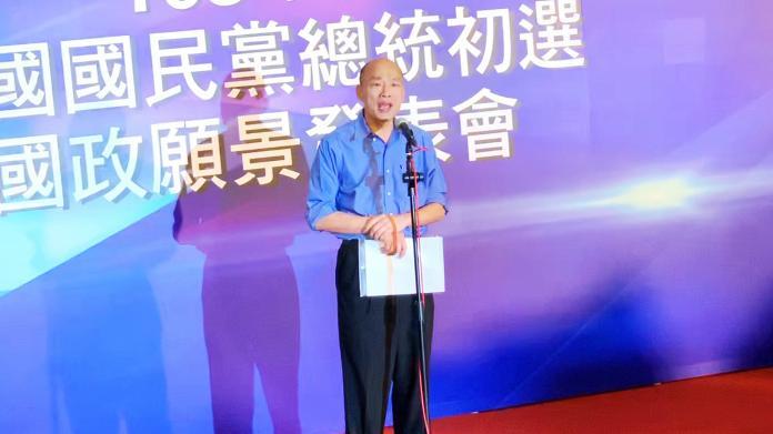 ▲高雄市長韓國瑜。(圖/記者郭俊暉攝)