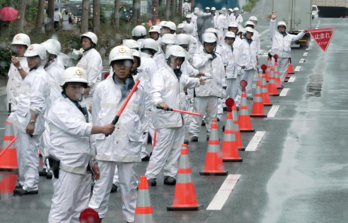 G20大阪峰會將登場,日本警方加強警備工作。(圖/美聯社/達志影像)