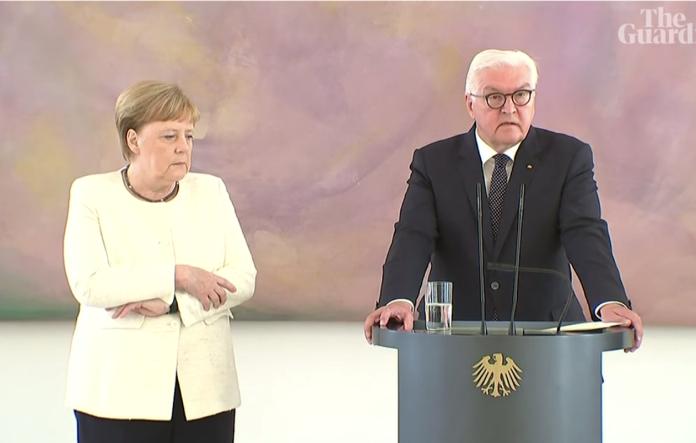 10天內第二次!德總理梅克爾全身抖不停 健康疑亮紅燈