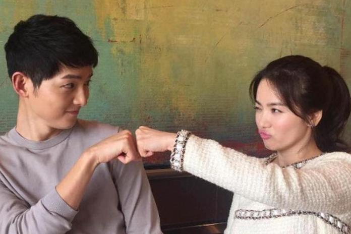 <br> 宋仲基在離婚聲明表示和宋慧喬不會惡言相向。(圖/摘自韓網Korea Daily)