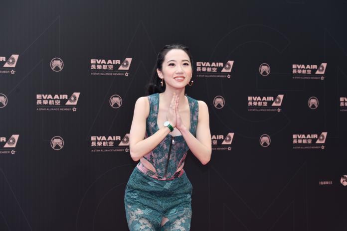 ▲金曲30典禮主持人LuLu黃路梓茵出席金曲30星光紅毯。(圖/影像中心攝 , 2019.06.29)