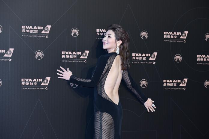 ▲王彩樺出席金曲30星光紅毯。(圖/影像中心攝 , 2019.06.29)