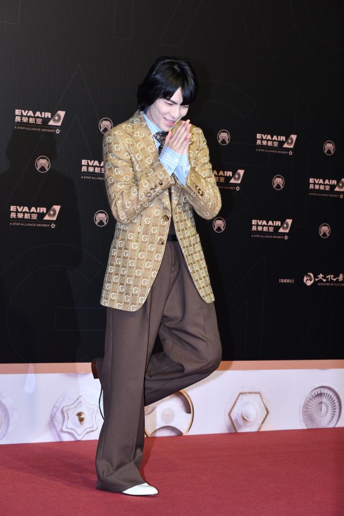 ▲蕭敬騰出席金曲30星光紅毯。(圖/影像中心攝 , 2019.06.29)
