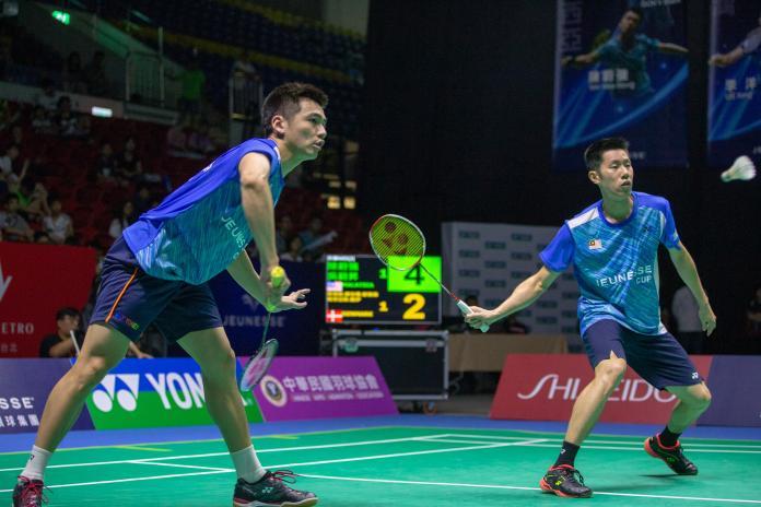 羽球/決定不來台北參賽 奧運銀牌男雙將放棄衛冕