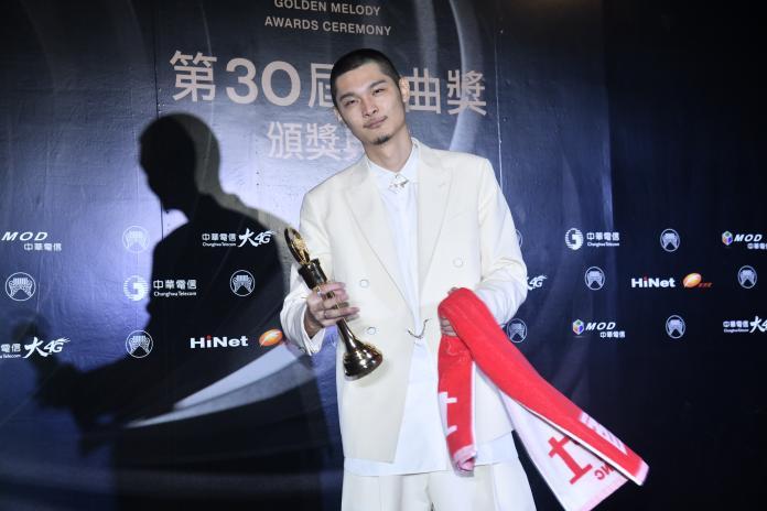 ▲Leo王奪下金曲歌王。(圖/影像中心攝 , 2019.06.29)