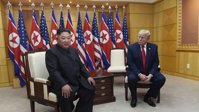 川金三會!川普踏上北韓領土 邀請金正恩赴美訪問