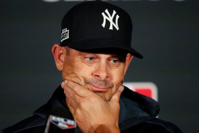 MLB/太空人紅襪偷暗號兩樣情 洋基教頭:那就這樣吧