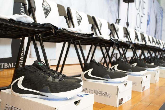 NBA/曾跟老哥同穿一雙鞋 <b>希臘怪胎</b>終擁有簽名鞋款