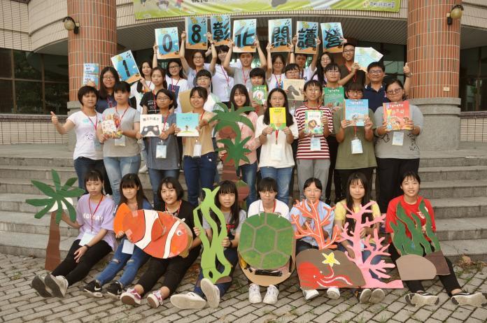 <br> ▲四天的閱讀營課程豐富多元,愛護海洋重視環保是主要的訴求之一。(圖/記者陳雅芳攝,2019.07.02)