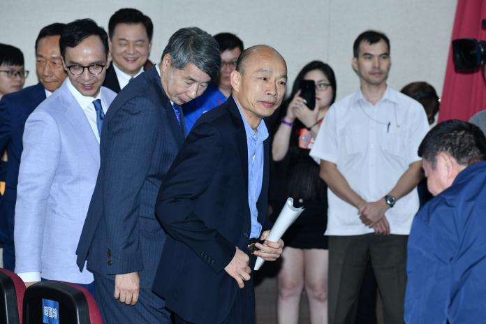高雄市長韓國瑜。(圖 / 記者林柏年攝,2019.07.03)