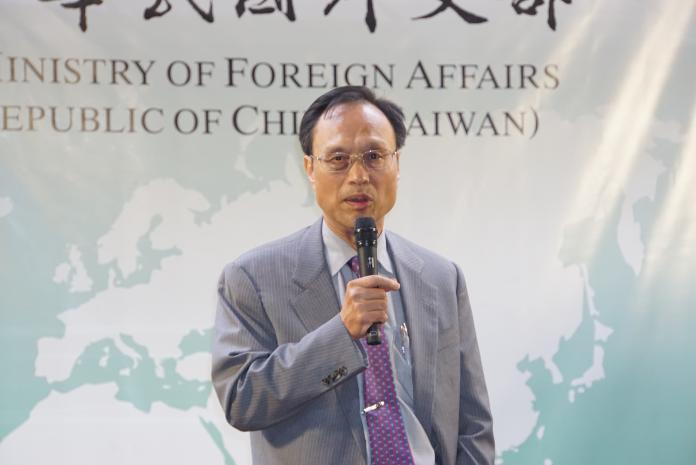 ▲外交部領務局局長陳俊賢。(圖/記者呂炯昌攝, 2019.7.4)