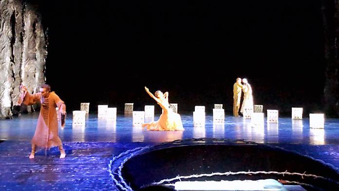 ▲《新娘妝》已在德國、奧地利演出近50場,亞洲首演在衛武營。(圖/記者陳美嘉攝)