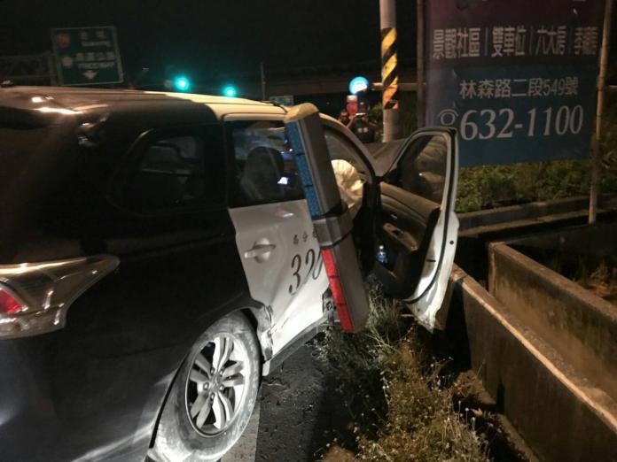 警方圍捕可疑車遭撞車毀 張麗善探視受傷2警