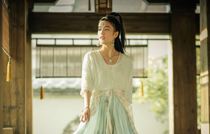 張雅欽在《扶搖》中飾演為愛犧牲的雅蘭珠