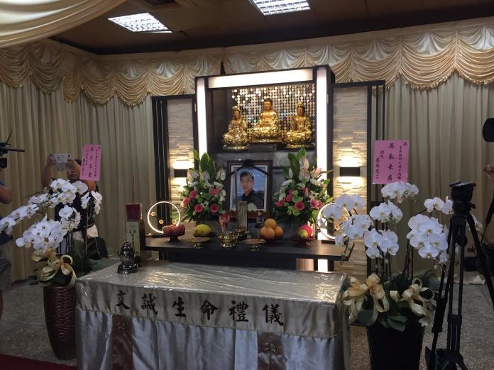 勇警李承翰告別式 訂於嘉市台灣燈會廣場舉行