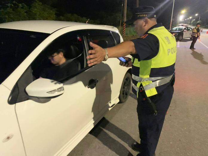 酒駕新制上路 金警連日大執法取締5件