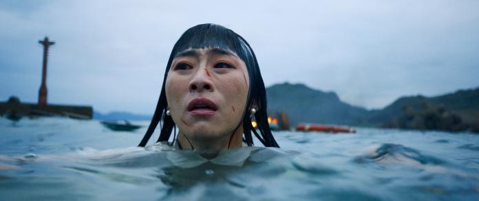 ▲吳可熙拍潛水爆破戲,很嚇人。(圖/岸上影像)