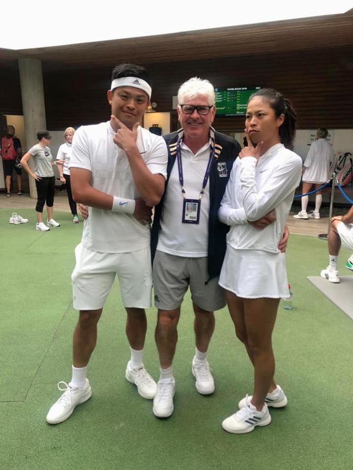 網球/去年<b>合拍</b>說圓夢 謝淑薇和謝政鵬今年就決裂