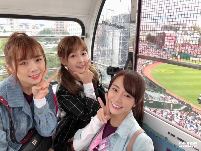 <br> 人氣火紅的LamiGirls連續兩年受邀前往東北樂天生命球場表演,交流棒球文化(猿隊提供)