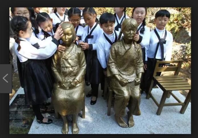 ▲韓國的慰安婦銅像。(圖/截自網路)