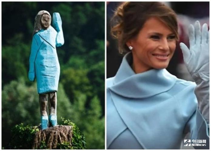 這什麼?美第一夫人雕像豎家鄉 奇醜無比驚嚇指數破表