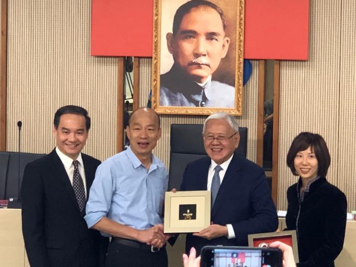 新加坡工商聯合總會訪高雄 韓國瑜盼多方合作交流