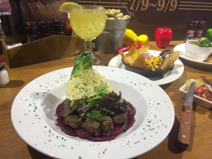 ▲美式牛排餐廳與美國牛肉肉類出口協會合作,推出五道全新料理。(圖/記者黃仁杰攝影2019.7.9)