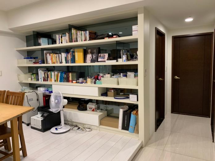 ▲韓國瑜指出,房子就是三房兩廳,簡簡單單,住得很自在。(圖/高市府提供)