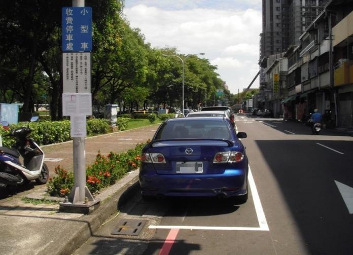 中市忠明南路免費車格遭久占 市府將收費