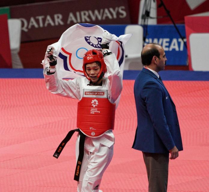 ▲蘇柏亞曾在亞運女子53公斤級奪金。(圖/中華奧會提供)