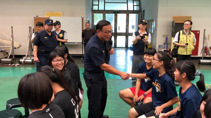 影/將調升副署長 台南警長黃宗仁主持最後一場活動