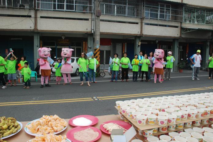 <br> ▲踩街活動就是要讓外地民眾見到田中小鎮人民的熱情。(資料照片 圖/記者陳雅芳攝,2019.07.14)