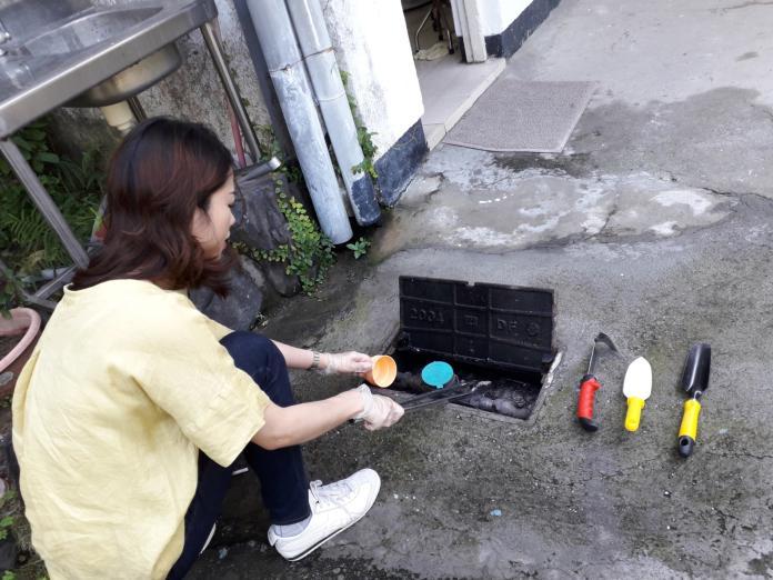 民眾易忽略,下雨會導致水表箱積水