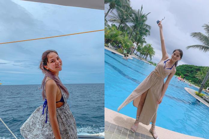 <br> ▲蕾菈赴長灘島渡假曬出一系列美照。(圖/蕾菈IG)
