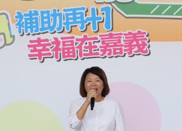 高雄市長韓國瑜在國民黨內初選民調勝出後,嘉義市長黃敏惠高喊:團結