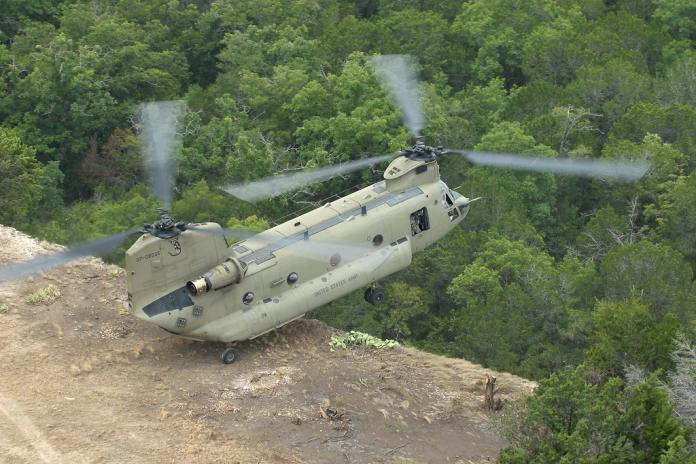 Air Cav reaches pinnacle during flight training exercise