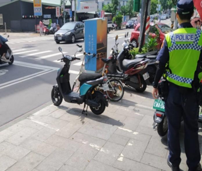 出租用電動自行車佔用市區停車格 金城分局將<b>加強取締</b>