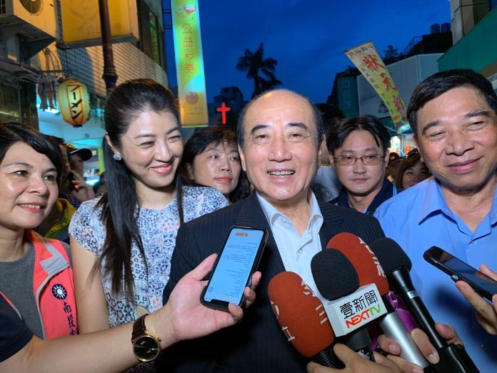 支持韓國瑜?王金平:時間還早 他還不是候選人
