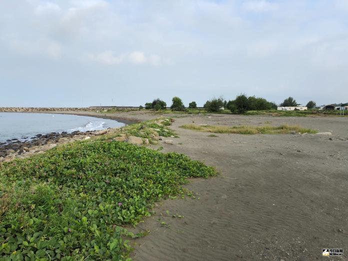 少了「日落塔」的漁光島,平添「日落塔」的漁光島,平添幾許淒涼。