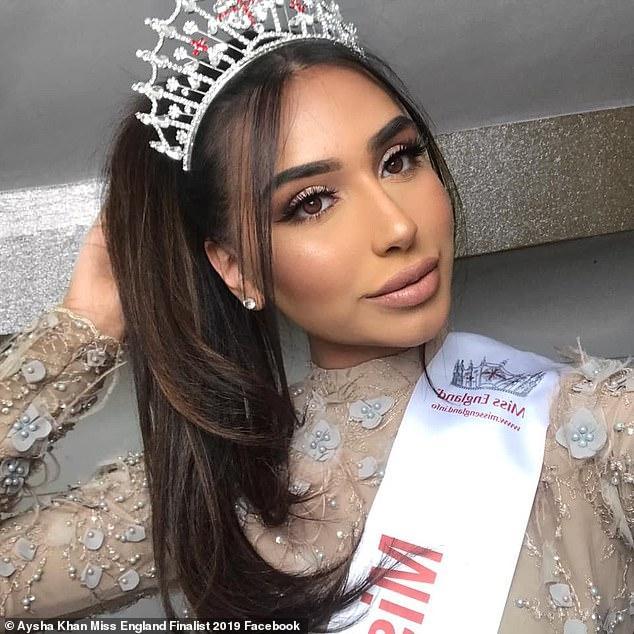 <br> ▲艾莎是2019年英國小姐的穆斯林參賽者(圖/翻攝網路)