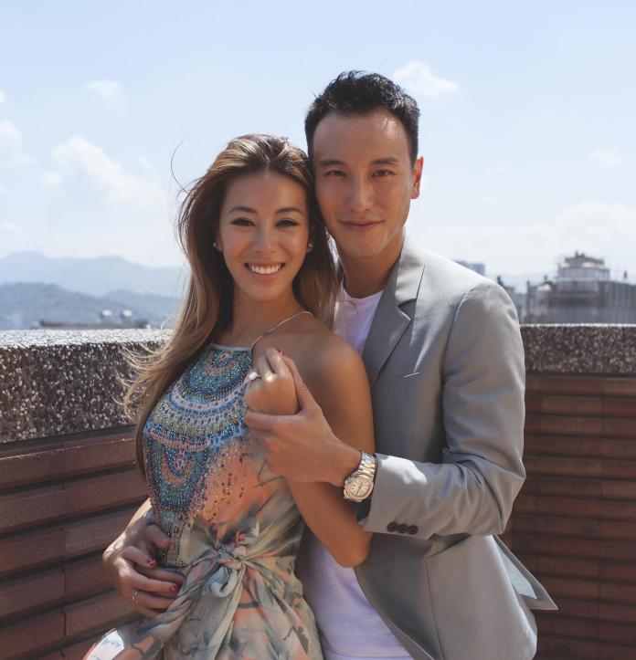 <br> ▲王陽明與蔡詩蕓結婚4年,近日傳出懷孕消息。(圖/翻攝臉書)