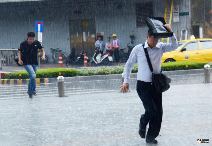 ▲丹娜絲颱風襲台,全台都該做好防災準備。(圖/記者陳明安攝)