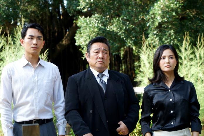 ▲陳謙文在電視劇《天之蕉子》中飾演大反派。(圖/三立提供)
