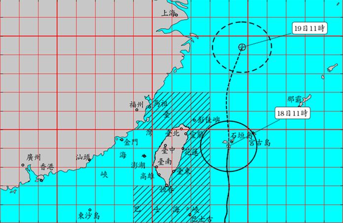 颱風丹娜絲最新動態看這篇 六縣市持續降下豪大雨
