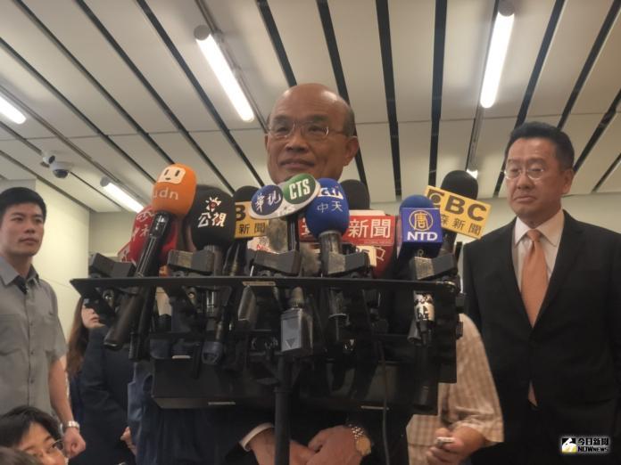 柯文哲<b>台民黨</b>成立!蘇貞昌喊話:為台灣 團結抗敵