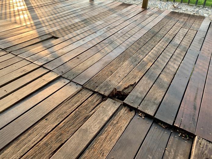 中市旱溪<b>自行車道</b>鋼釘外露 市府8月中旬改善