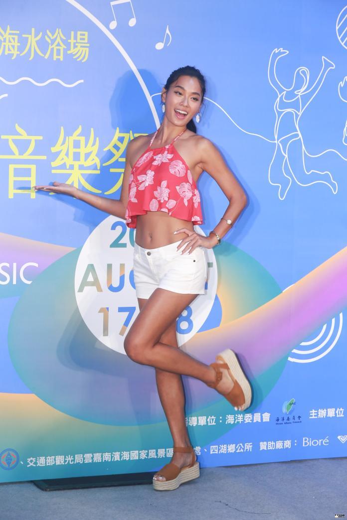 ▲王麗雅擔任2019雲林海洋音樂祭活動代言人,出席活動起跑記者會。(圖/記者葉政勳攝 , 2019.07.19)